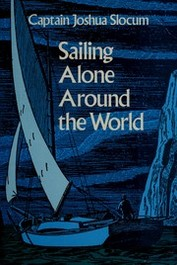 book cover for Sailing Alone Around the World