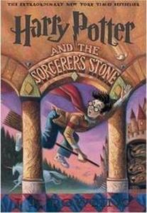 book cover of Harry Potter and the Sorcerer's Stone