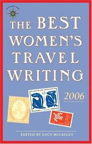 book cover of The Best Women's Travel Writing 2006