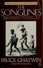 book cover of The Songlines