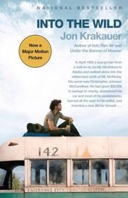 book cover of Into the Wild