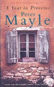 book cover of A Year in Provence