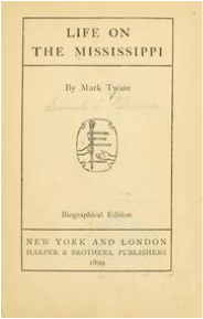 book cover of Life on the Mississippi