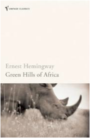 book cover of Green Hills of Africa