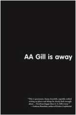 book cover of AA Gill is away