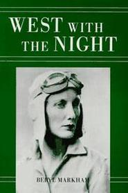 book cover of West With the Night