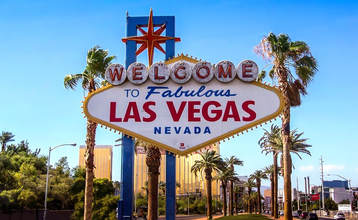 The Welcome to Las Vegas sign
