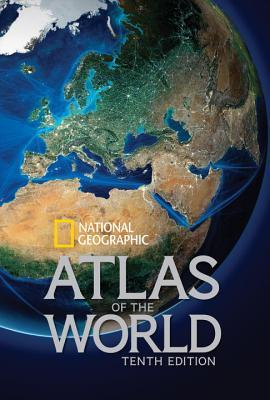 book cover of National Geographic's Atlas of the World