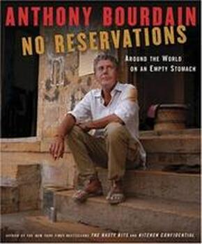 book cover for No Reservations