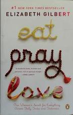 book cover of Eat Pray Love