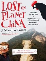 book cover of Lost on Planet China