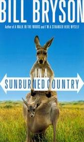 book cover to In a Sunburned Country