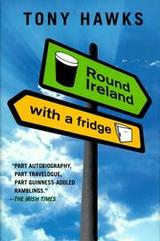 book cover of Round Ireland with a Fridge