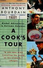 book cover for A Cook's Tour