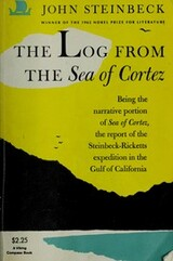book cover of The Log from the Sea of Cortez