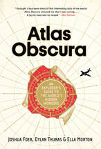 book cover of Atlas Obscura