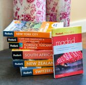 image of several Fodor's travel guides