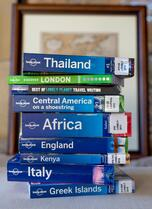 image of several Lonely Planet books