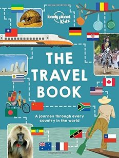 book cover for Lonely Planet's The Travel Book