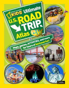 book cover of National Geographic's U.S Road Trip Atlas