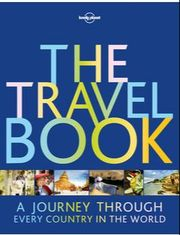 book cover for The Travel Book