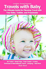 book cover for Travels with Baby